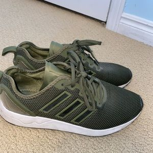 ADIDAS OLIVE SNEAKERS